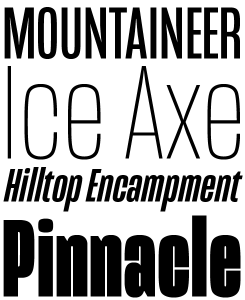 Mongoose Font Sample