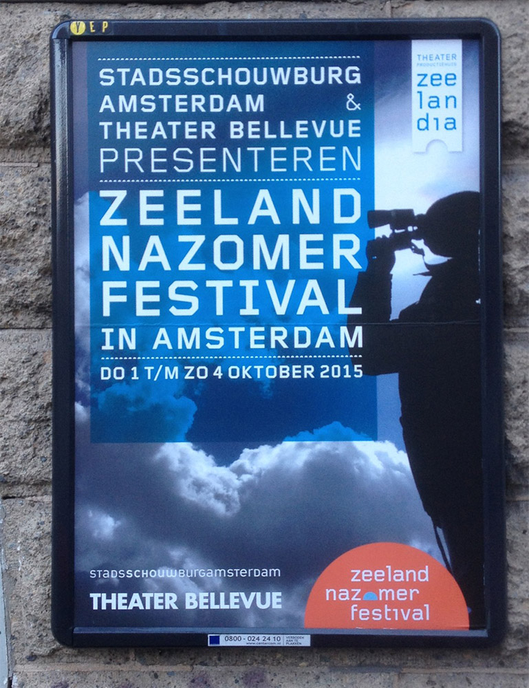 Gridnik on a Theatrical poster from Amsterdam