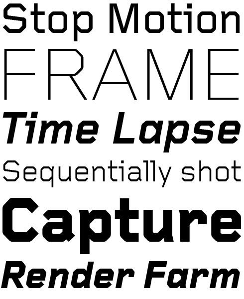 Foundry Gridnik Font Sample