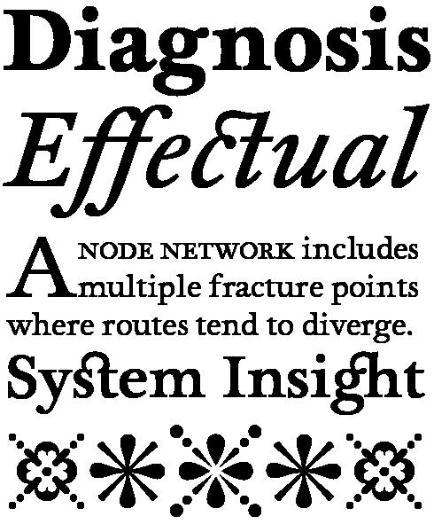 Foundry Wilson Font Sample