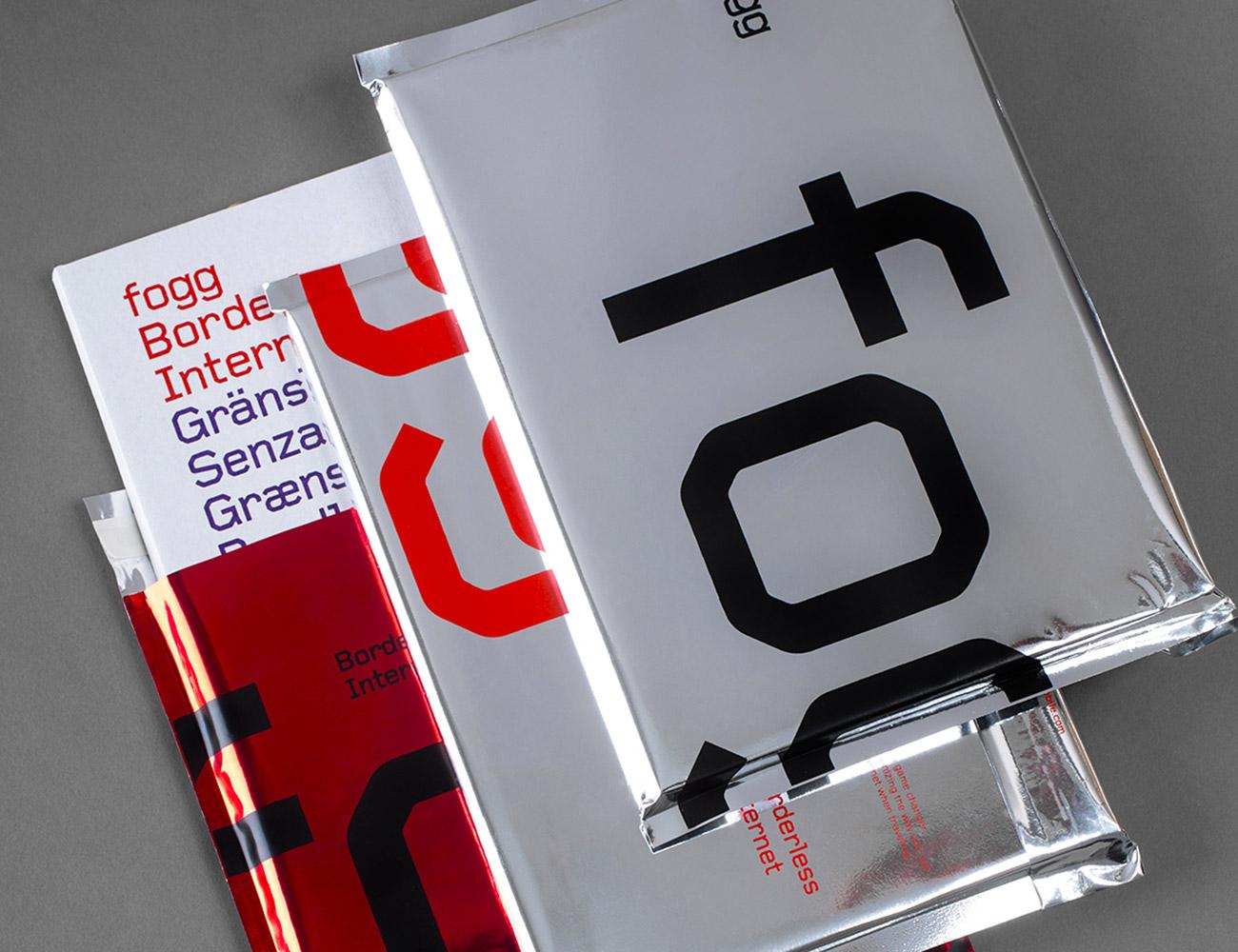 Branding for Swedish telecoms enterprise Fogg