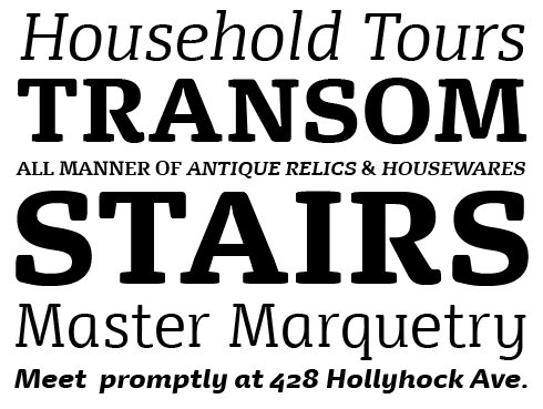 FP Dancer Serif Font Sample
