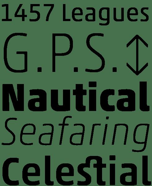 Akko® Pro Font Sample