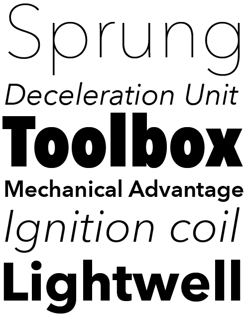Avenir® Next Pro Font Sample