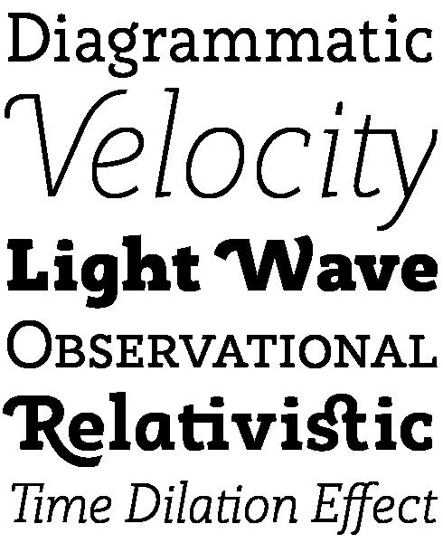 Rogliano Font Sample