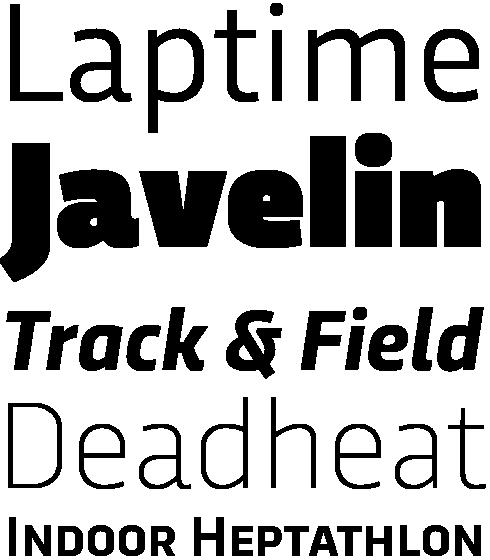 trasandina Font Sample