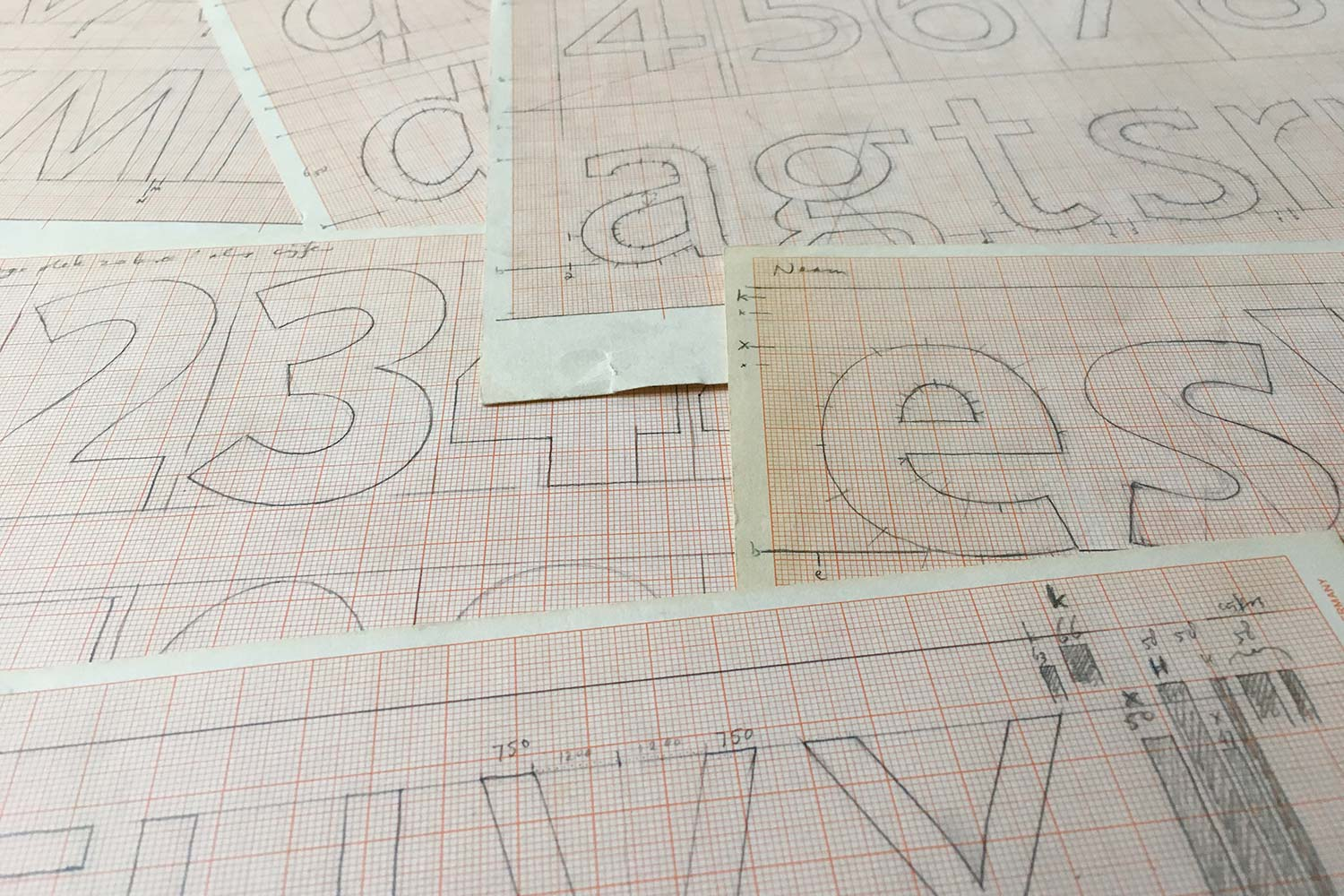 Production sketches for Telefont