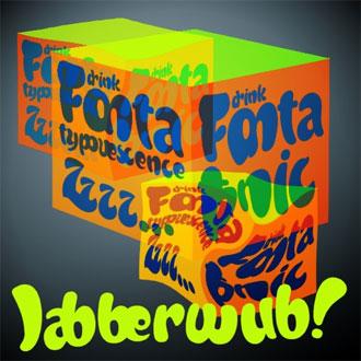 Jabberwub font sample