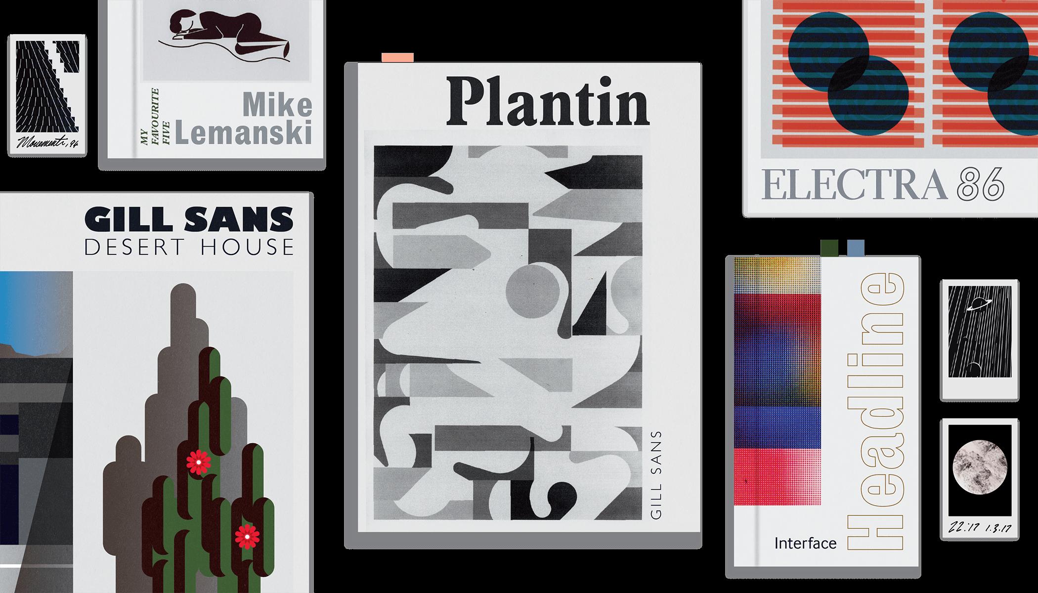 Mike Lemanski's Favorite Five Typefaces