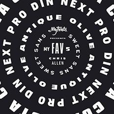 Chris Allen's Favorite Five Typefaces