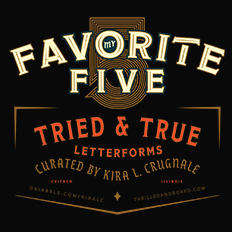 Kira Crugnale's Favorite Five Typefaces
