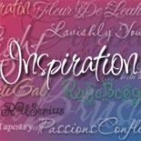 Inspiration font flag