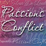 Passions Conflict font flag