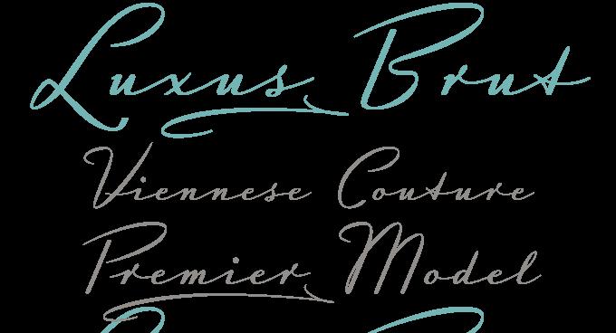 luxus brut font