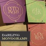 Darling Moniograms font flag