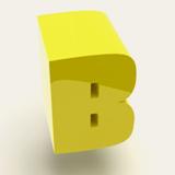 Bumper font flag