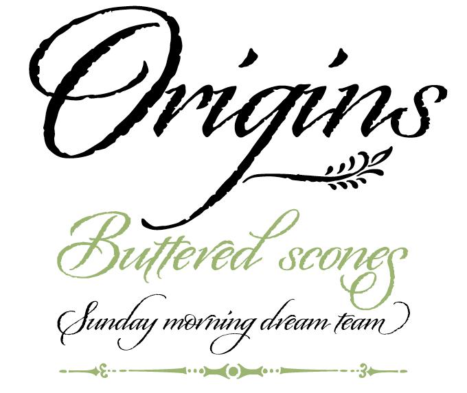 Origins font sample