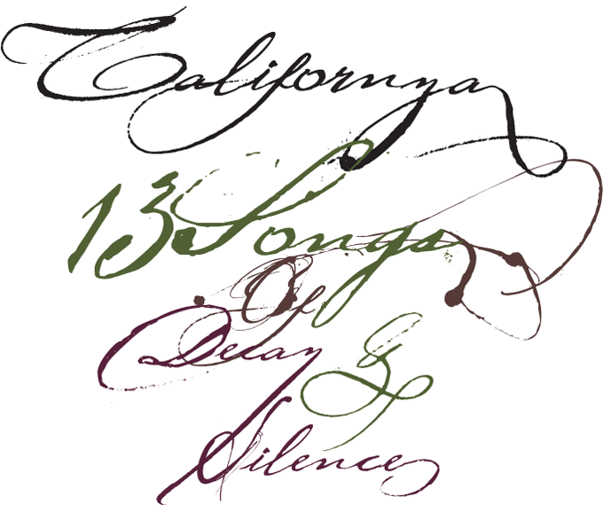 Californya font sample