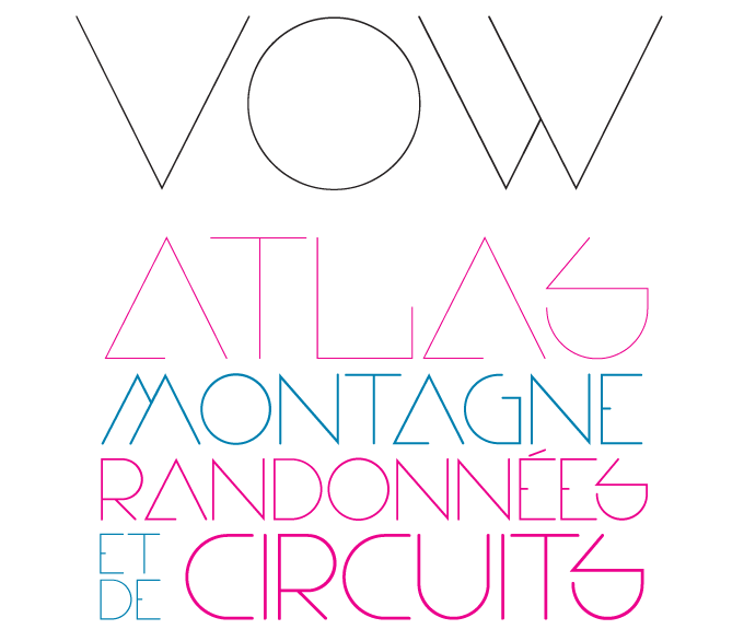 Vow font sample