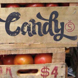 Candy Script font flag