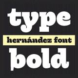 Hernandez font flag