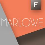 Marlowe font flag