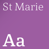 St Marie font flag
