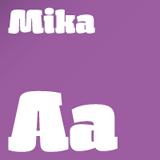 St Mika font flag
