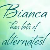 Bianca font flag