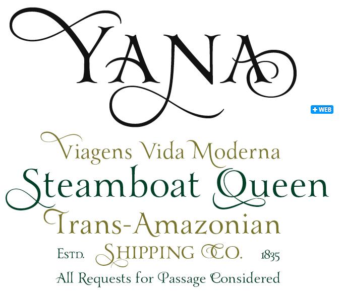St Ryde font sample