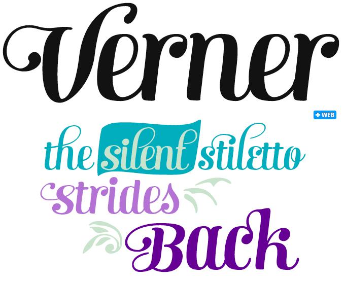 Verner font sample