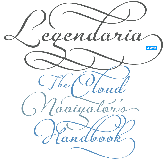 Legendaria font sample