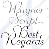 Wagner font flag