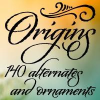 Origins font flag