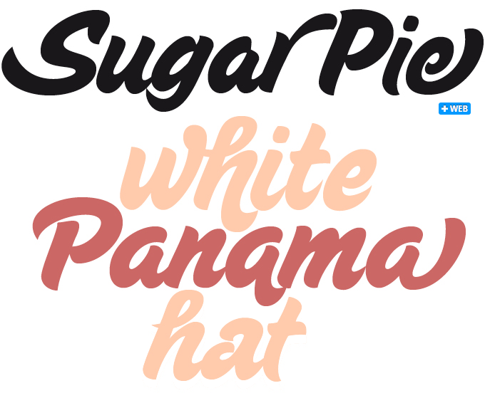 Sugar Pie font sample