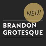 Brandon Grotesque font flag