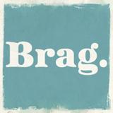Brag font flag