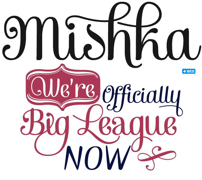 Mishka font sample