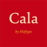 Cala font flag
