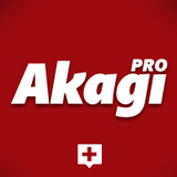 Akagi Pro font flag