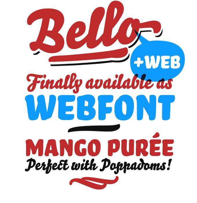 Bell Pro font sample