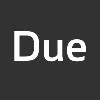 Due font flag