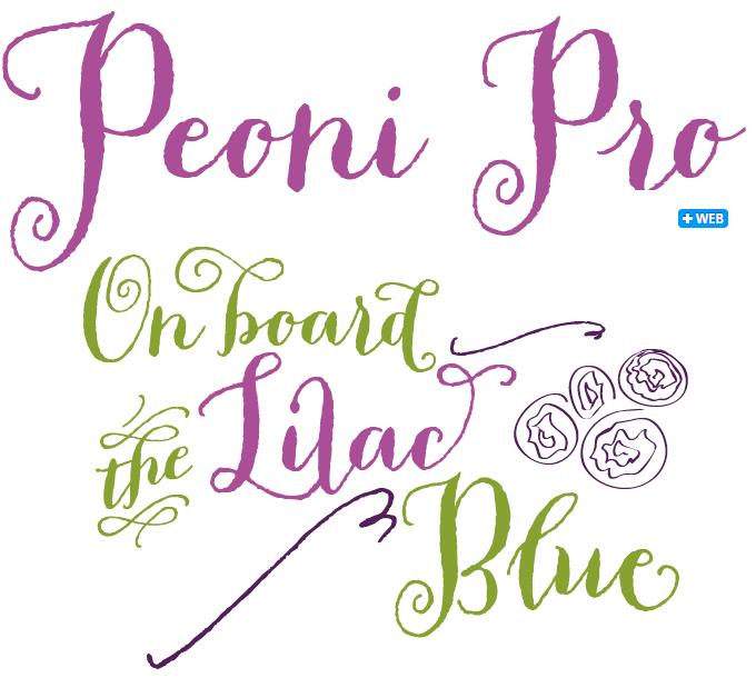 Peoni Pro font sample