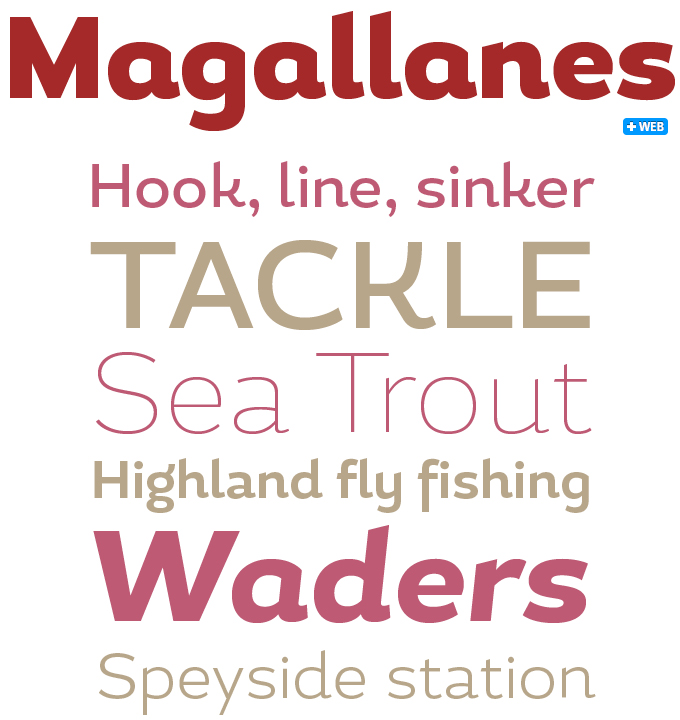 Magallanes font sample