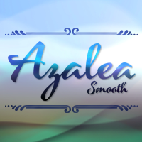 Azalea Smooth font flag