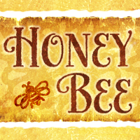 Honey Bee font flag