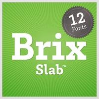 Brix Slab font flag