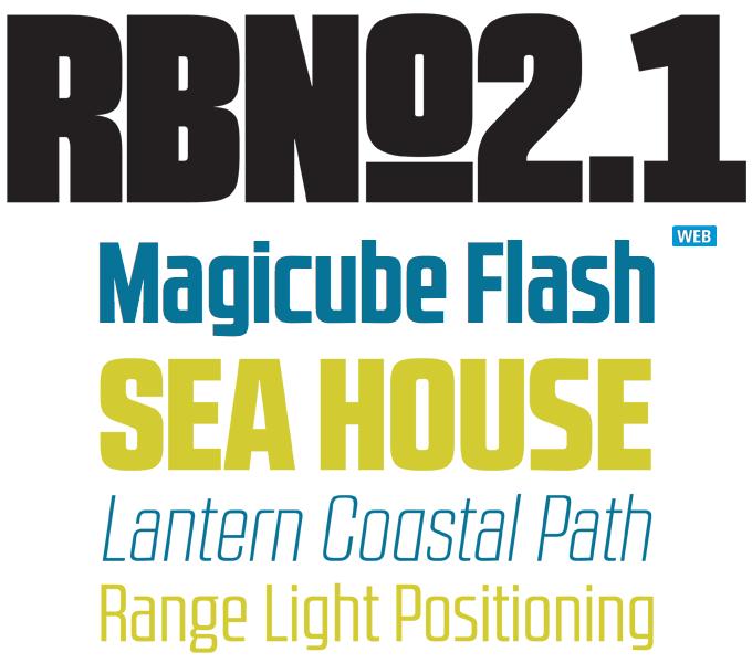RBno2.1 font sample