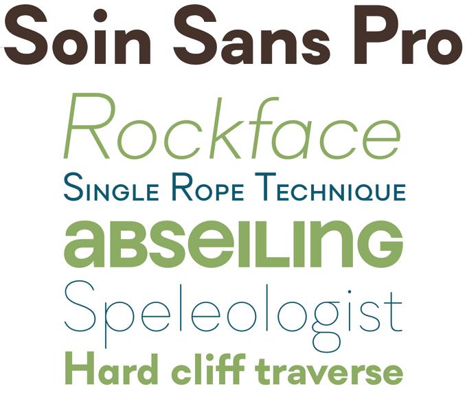 Soin Sans font sample
