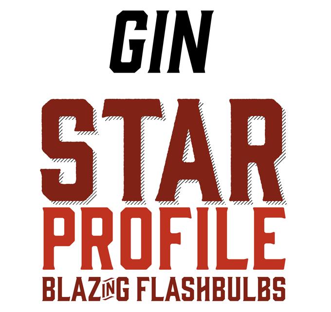 Gin font sample